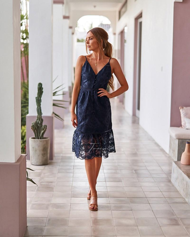 Twosisters The Label Adyna Dress Navy