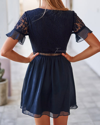 Twosisters The Label Tilly Dress Navy