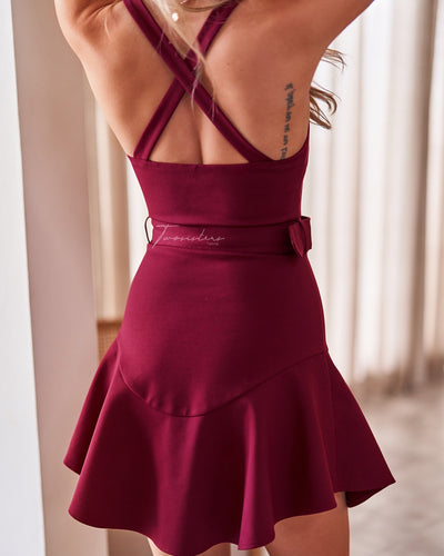 Twosisters The Label Rachel Dress Mulberry