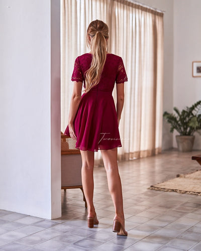 Twosisters The Label Stella Dress Red