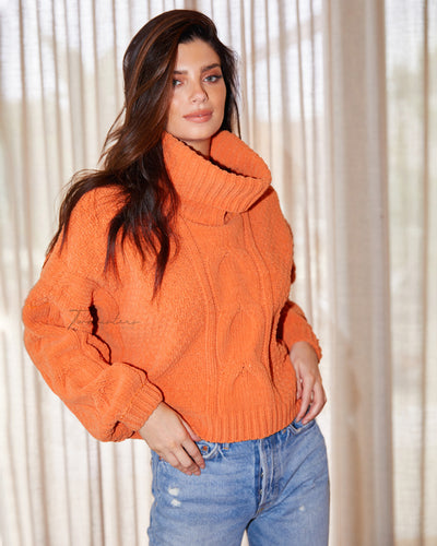 Twosisters The Label Aspen Knit Orange