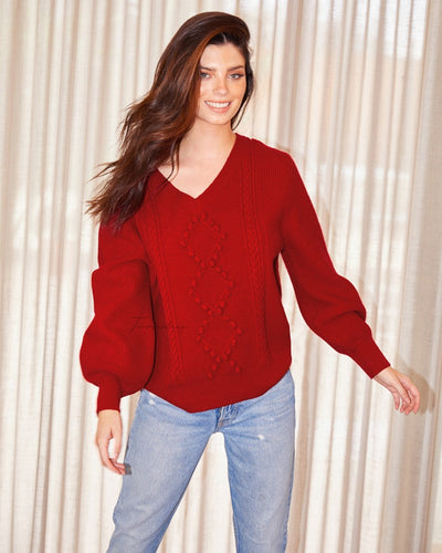 Twosisters The Label Sarah Knit Red