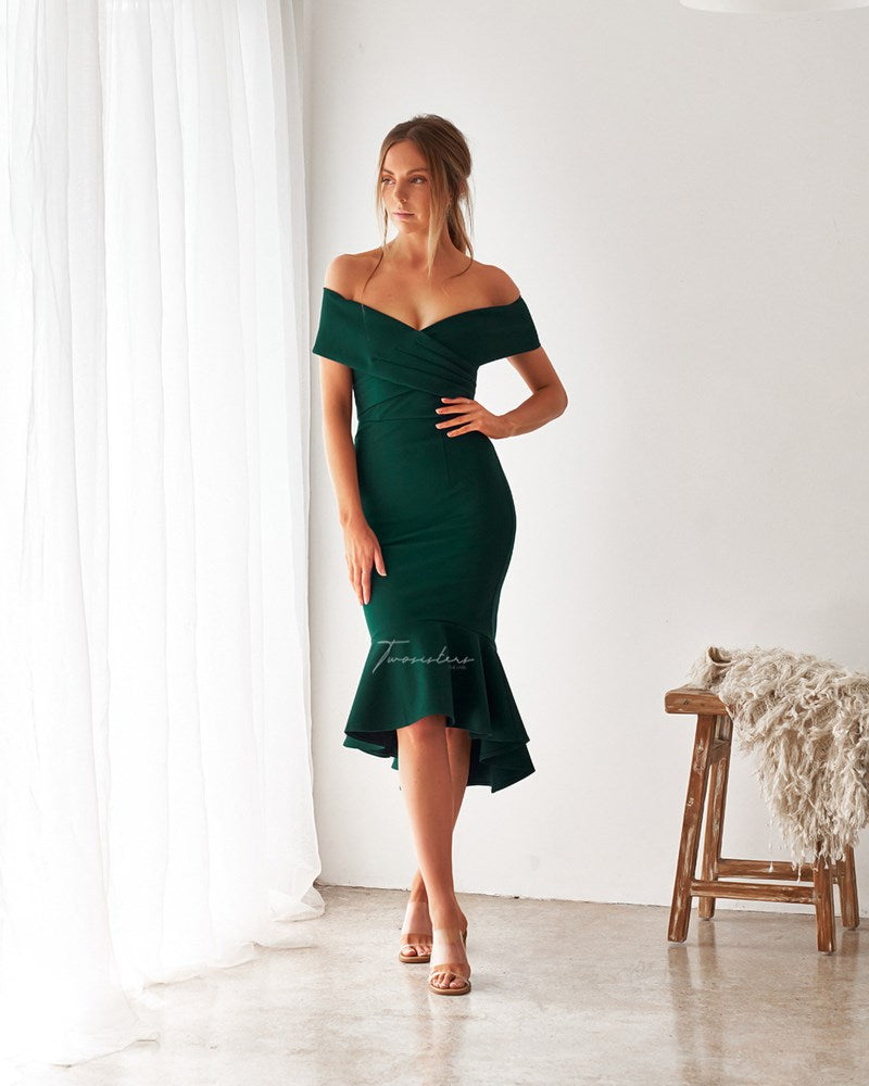 Twosisters The Label Brienne Dress Green