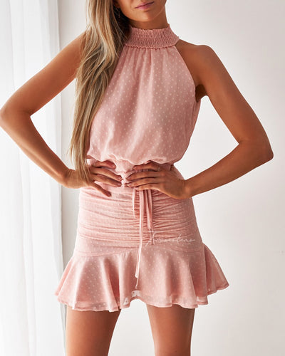 Twosisters The Label Pip Dress Blush