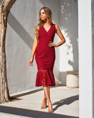 Bridget Dress - Red
