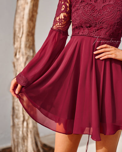 Paige Dress - Red