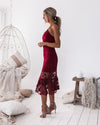 Estelle Dress - Wine