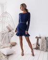 Medindie Dress - Navy