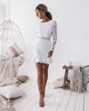 Medindie Dress - White