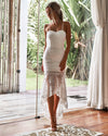 Mesina Dress - White