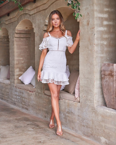 Sao Paolo Dress - White