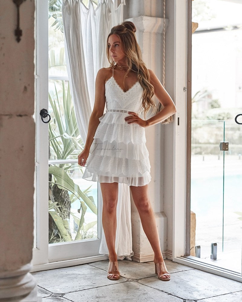 Shelby Dress - White