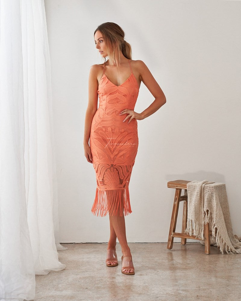 Khaleesi Dress - Apricot