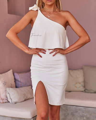 Edith Dress - White