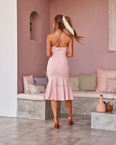 Eveleen Dress - Blush