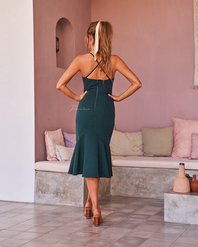 Eveleen Dress - Green