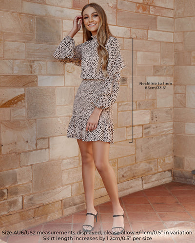 Twosisters The Label Kealy Dress Leopard Print