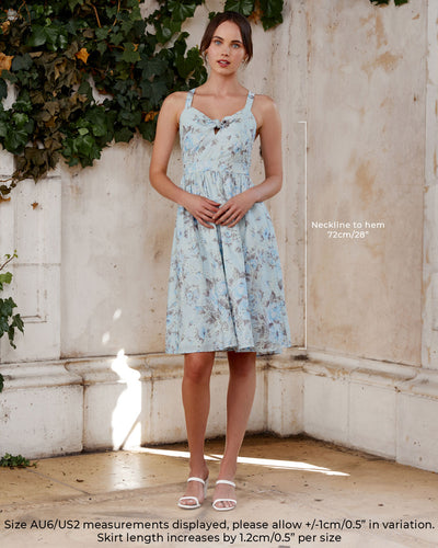 Twosisters The Label Ophelia Midi Dress Blue