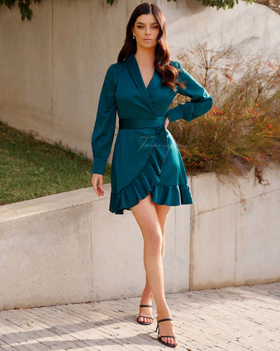 Twosisters The Label Eliza Dress Green