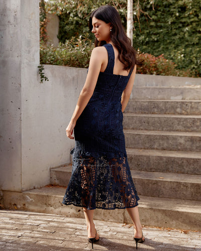 Twosisters The Label Isabella Dress Navy