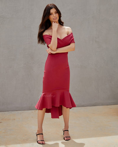 Twosisters The Label Brienne Dress Watermelon