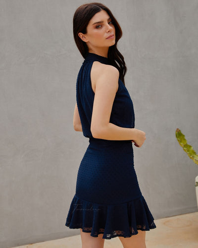 Twosisters The Label Pip Dress Navy