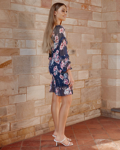 Twosisters The Label Gail Dress Navy