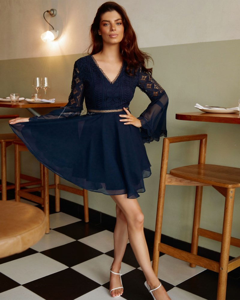Twosisters The Label Darcy Dress Navy