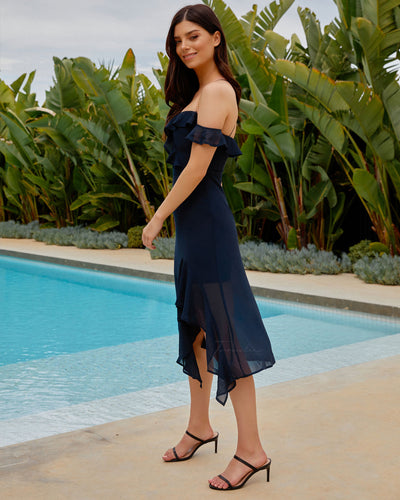 Twosisters The Label Alana Dress Navy