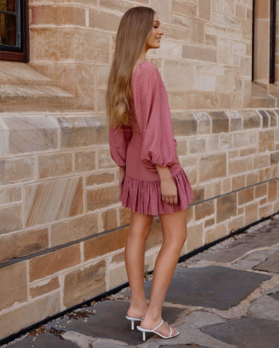 Twosisters The Label Merella Dress Mauve