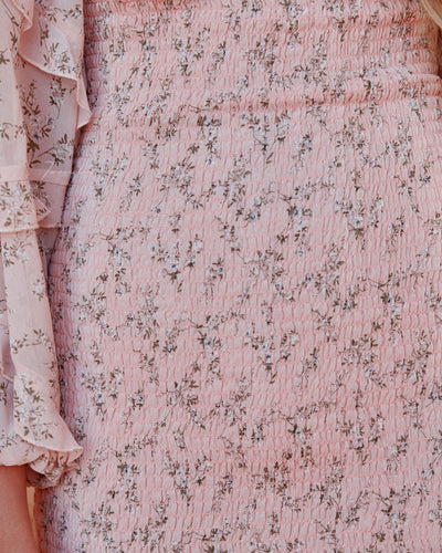 Twosisters The Label Elena Dress Baby Pink
