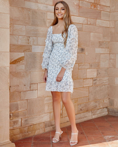 Twosisters The Label Elena Dress White