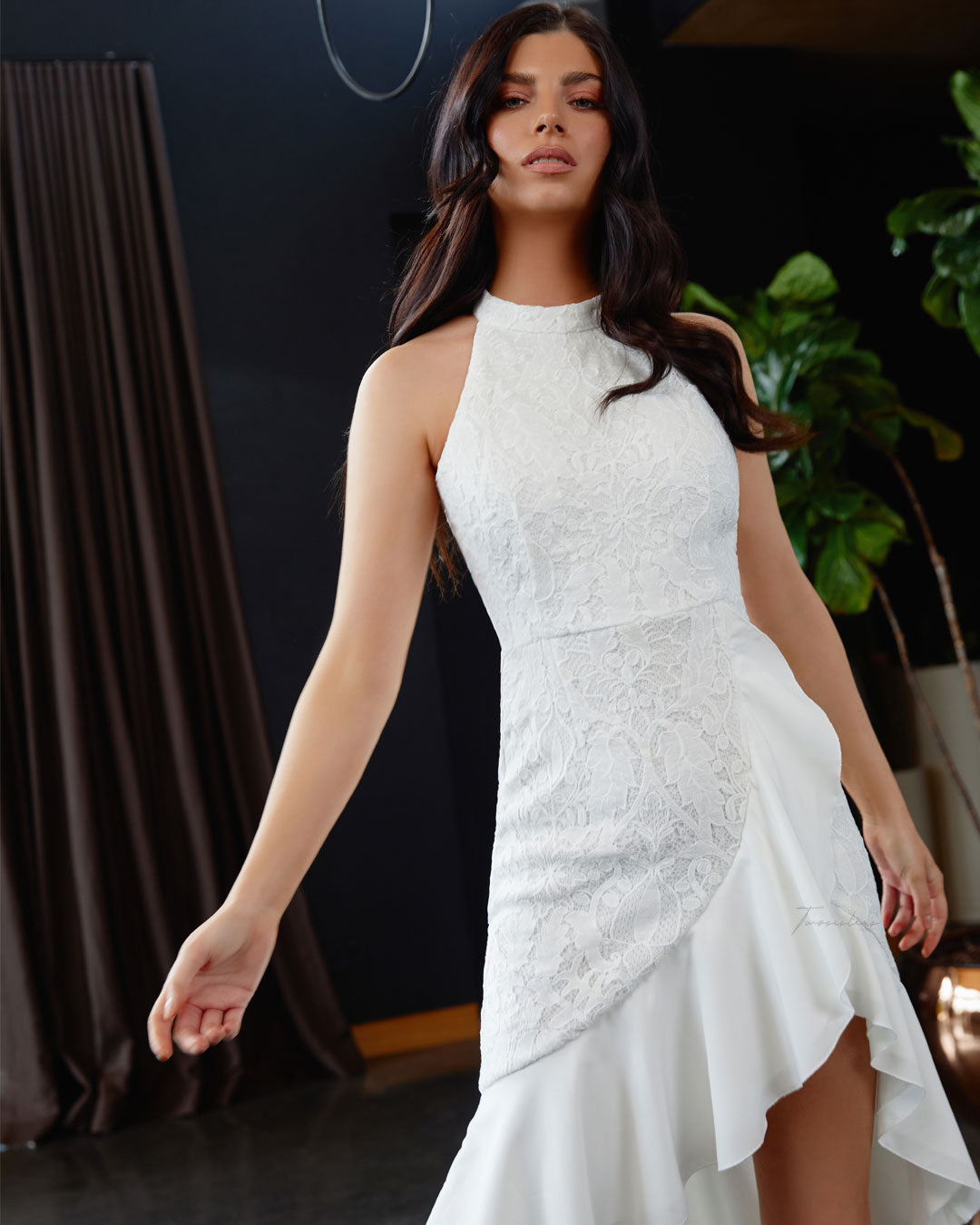 Twosisters The Label Leila Dress White