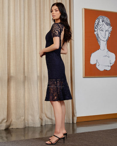 Twosisters The Label Tiana Dress Navy