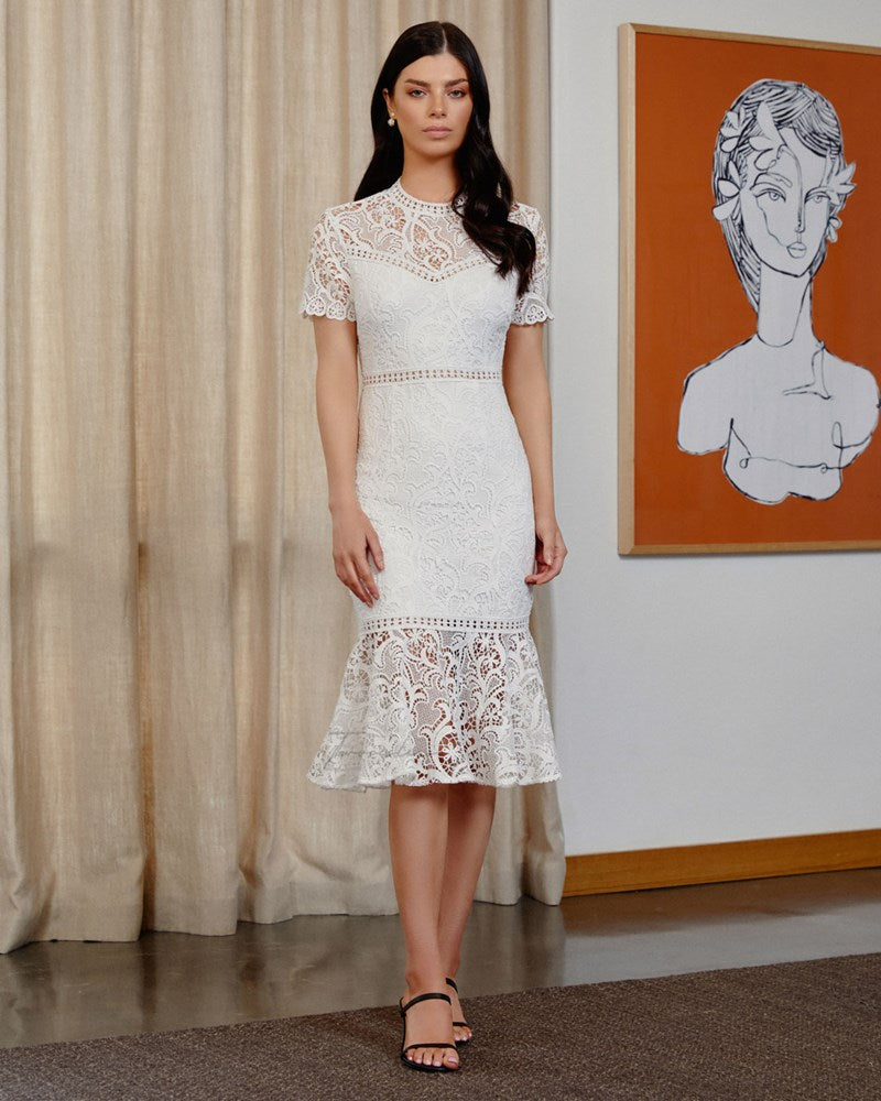 Twosisters The Label Tiana Dress White