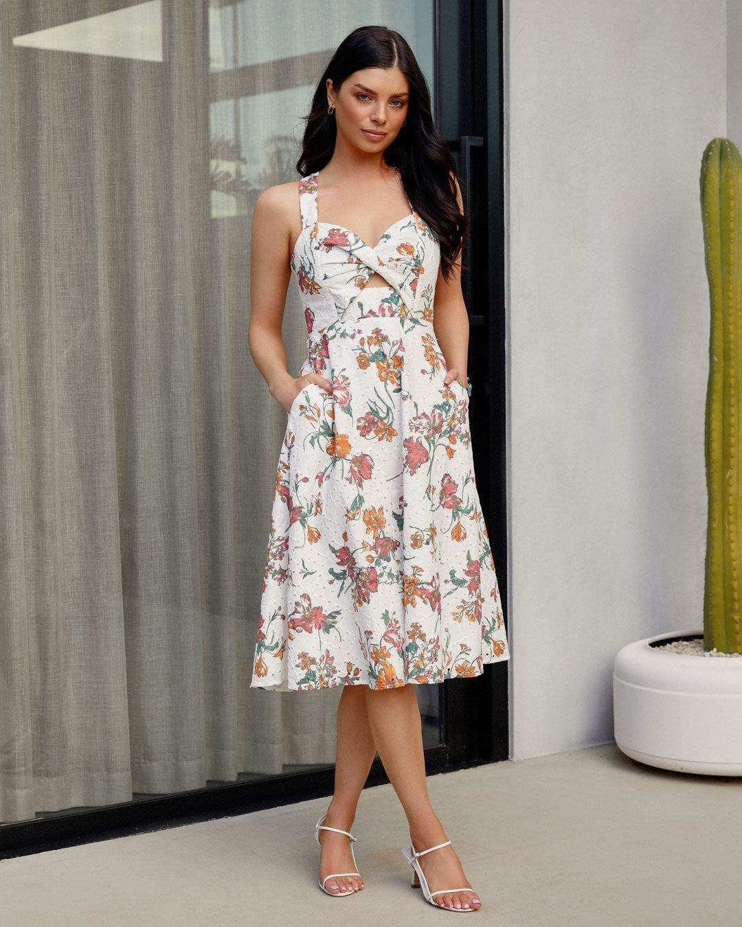 Twosisters The Label Lily Dress Spring Print