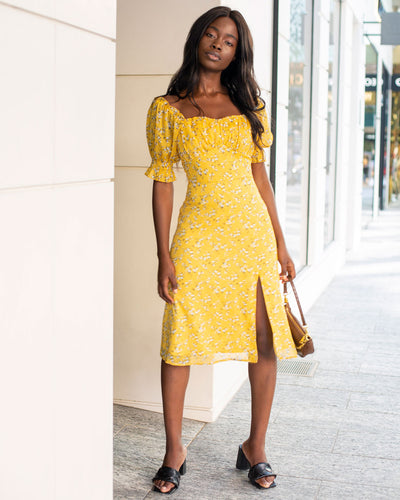 Twosisters The Label Kristen Dress Yellow