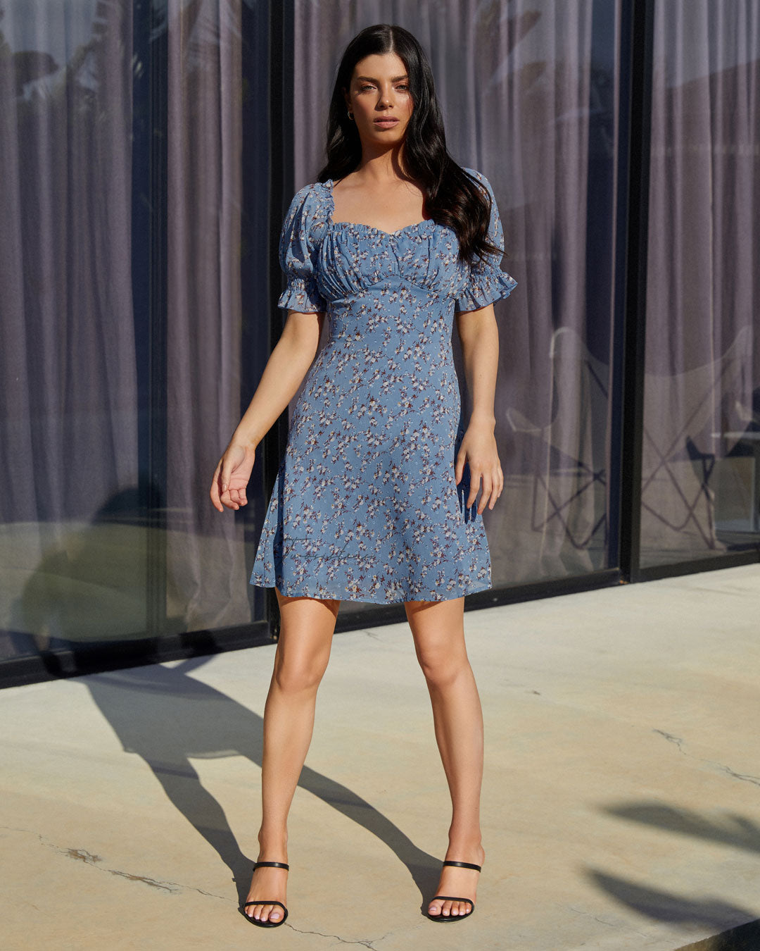 Twosisters The Label Kris Dress Blue