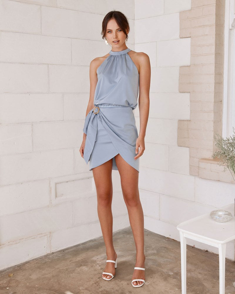 Twosisters The Label Nola Set Periwinkle