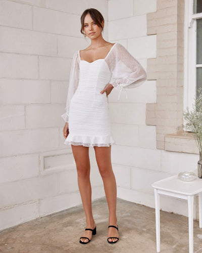 Twosisters The Label Harriette Dress White
