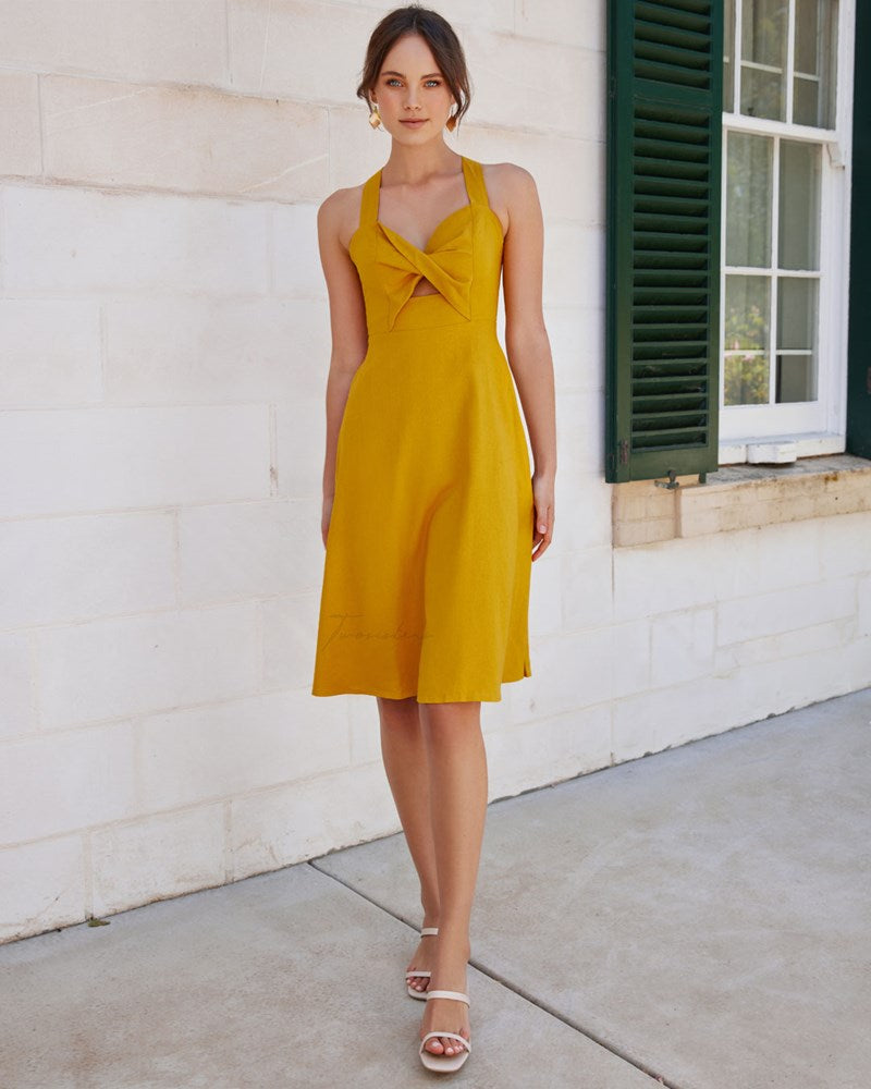 Twosisters The Label Amira Dress Yellow
