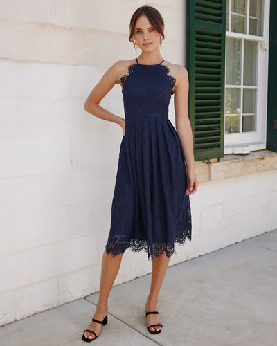 Twosisters The Label Priya Dress Navy