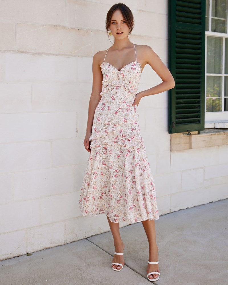 Twosisters The Label Samantha Dress Pink Floral