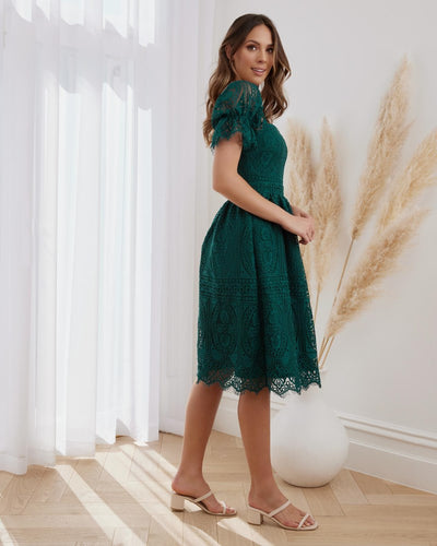 Twosisters The Label Remie Dress Green