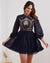 Twosisters The Label Avril Mini Dress Navy