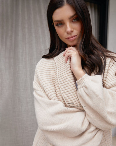 Twosisters The Label Dannie Knit Beige