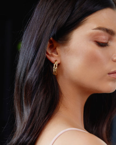 Twosisters The Label Georgette Earring Gold