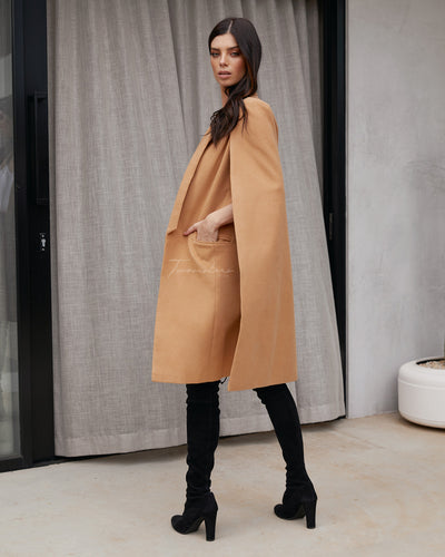 Twosisters The Label Gigi Cape Camel