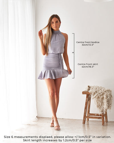Twosisters The Label Pip Dress Frosted Grey