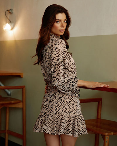 Twosisters The Label Piper Dress Leopard Print